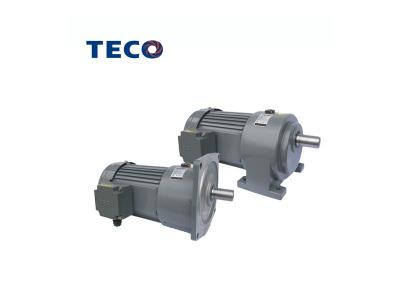 TECO Small R series geared motor driving and connecting globally